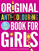 Original Anti colouring Book for Girls