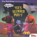 Vampirina Read Along Book and CD Vee s Slumber Party