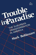 Trouble In Paradise : are changing, and discusses the housing...