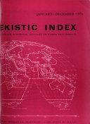 Ekistic Index