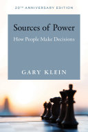 Ebook Sources of Power Epub Gary A. Klein Apps Read Mobile