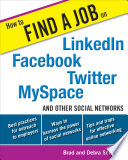 How to Find a Job on LinkedIn  Facebook  Twitter  MySpace  and Other Social Networks
