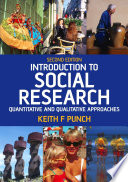 Introduction to Social Research