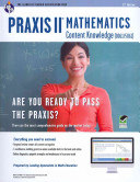 Praxis II Mathematics Content Knowledge  0061  Book   Online