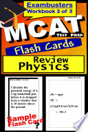 Mcat Test Prep Physics Review Exambusters Flash Cards Workbook 3 Of 3