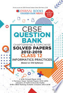 Oswaal Cbse Question Bank Class 12 Informatics Practice Chapterwise Topicwise For March 2020 Exam