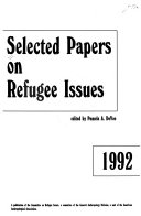 Selected Papers on Refugee Issues