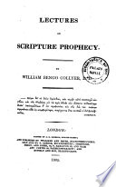 Lectures On Scripture Prophecy