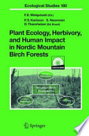 Plant Ecology  Herbivory  and Human Impact in Nordic Mountain Birch Forests