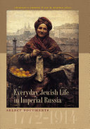 Everyday Jewish Life in Imperial Russia