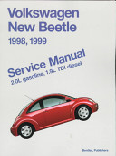 Volkswagen New Beetle Service Manual 1998 1999