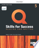 Q Skills For Success 3e Reading And Writing Level 5