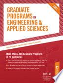 Peterson's Graduate Programs in Biomedical Engineering & Biotechnology, Chemical Engineering, and Civil & Environmental Engineering 2011