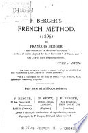F  Berger s French Method