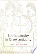 Ethnic Identity In Greek Antiquity : available in paperback....