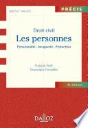 Droit Civil Les Personnes Personnalit Incapacit Protection