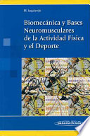 Biomecnica y Bases Neuromusculares de la Actividad Fsica y el Deporte   Biomechanics and Neuromuscular Bases of Physical Activity and Sport