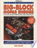 How to Rebuild Big Block Mopar Engines