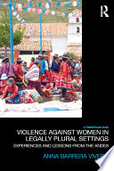 Violence Against Women in Legally Plural settings