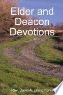 Elder and Deacon Devotions