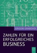 Zahlen Fur Ein Erfolgreiches Business  German Edition