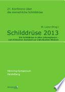 Schilddrüse 2013