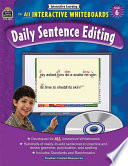 Interactive Learning  Daily Sentence Editing Grd 6