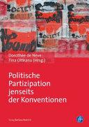 Politische Partizipation jenseits der Konventionen