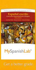 Espanol escrito MySpanishLab Access Code