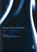Business Ethics in East Asia