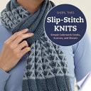 Slip Stitch Knits