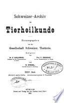 Schweizer Archiv für Tierheilkunde