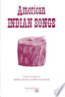 American Indian Songs