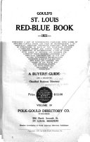 Gould's St. Louis Red-blue Book