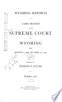 Wyoming Reports