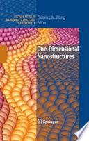 One Dimensional Nanostructures book