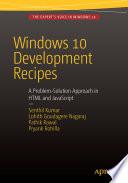 Windows 10 Development Recipes