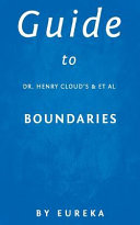 Guide to Dr  Henry Cloud s and Et Al Boundaries