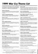 The War Cry Book PDF