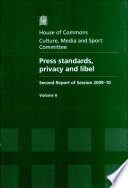 Press standards  privacy and libel