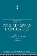 The Indo European Languages