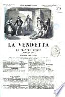La vendetta, ou La fiancée corse drame en trois actes par Victor Ducange