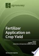 Fertilizer Application on Crop Yield Book PDF