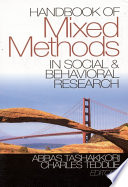 Handbook of Mixed Methods in Social   Behavioral Research