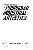 Revista mexicana de la propiedad industrial y art  stica