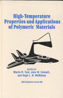 High temperature Properties and Applications of Polymeric Materials