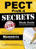 Pect Prek 4 Secrets Study Guide  Pect Test Review for the Pennsylvania Educator Certification Tests
