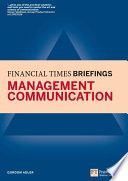 Management Communication  Financial Times Briefing