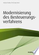 Modernisierung des Besteuerungsverfahrens