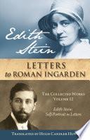 Edith Stein Letters To Roman Ingarden